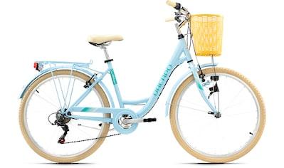 KS Cycling Cityrad »Cantaloupe«, 6 Gang Shimano Tourney Schaltwerk, Kettenschaltung kaufen