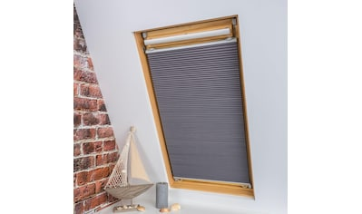 Dachfensterplissee, »Universal Dachfenster - Plissee«, Liedeco, verdunkelnd, ohne Bohren, verspannt kaufen