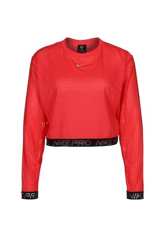 Nike Longsleeve »Pro Crop Mesh« kaufen