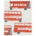 Juniqe Wohndecke »London Busses«, sehr weich und kuschelig