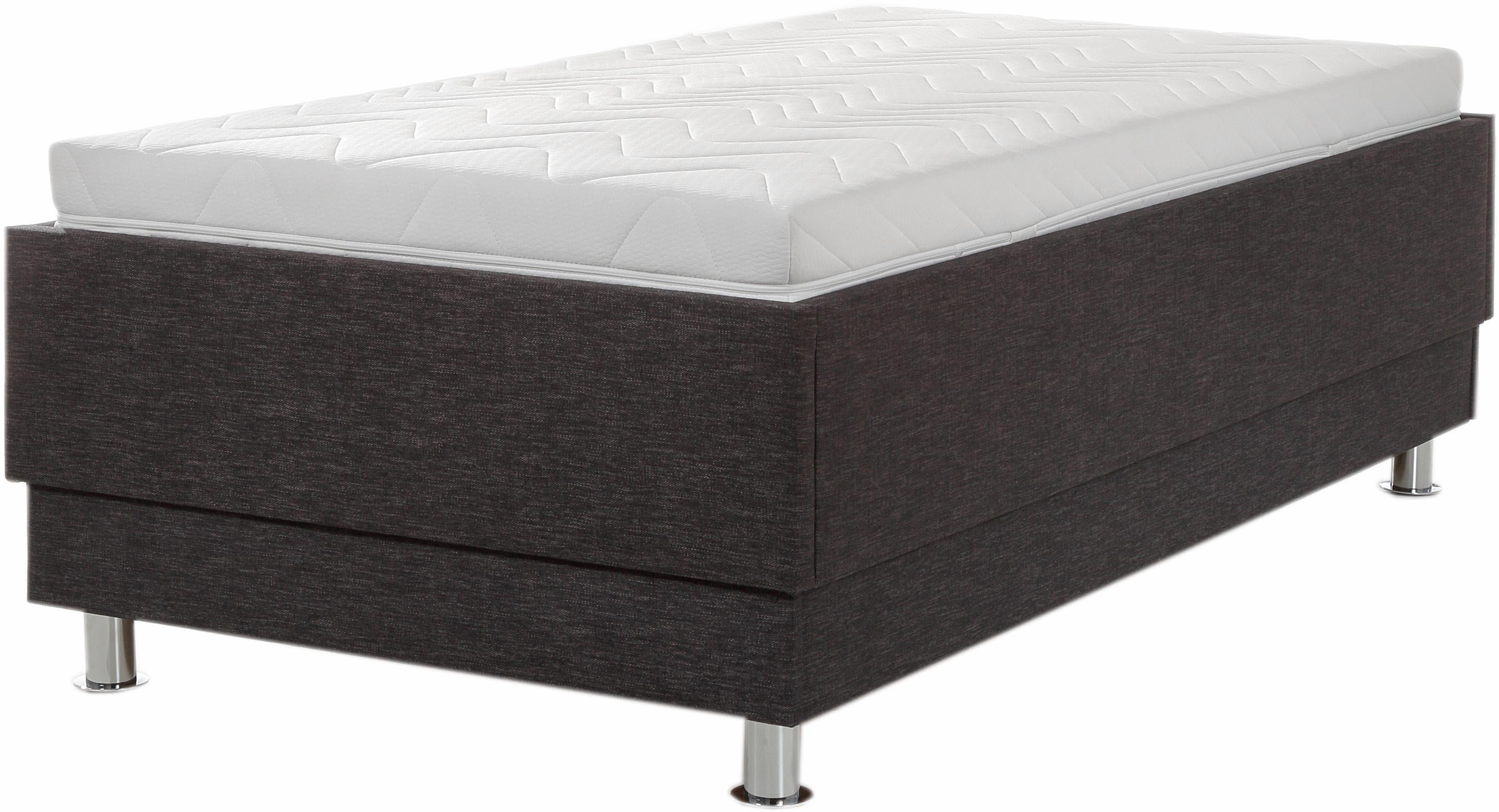 Breckle Polsterbett | Schlafzimmer > Betten > Polsterbetten | Grau | Strukturstoff | Breckle