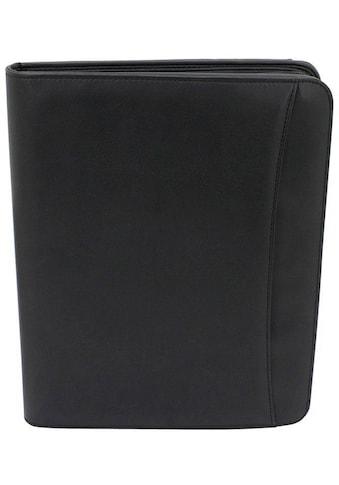 Friedrich23 Schreibmappe »DIN A4, schwarz«, mit herausnehmbarem Einleger kaufen