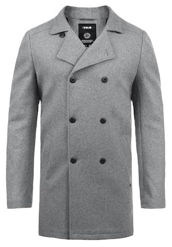 Solid Wollmantel »Harvey«, Mantel mit doppelter Knopfleiste kaufen