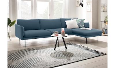 andas Ecksofa »Mavis«, mit Chaiselonge, mit losen Sitz- und Rückenkissen, skandinavischer Stil kaufen