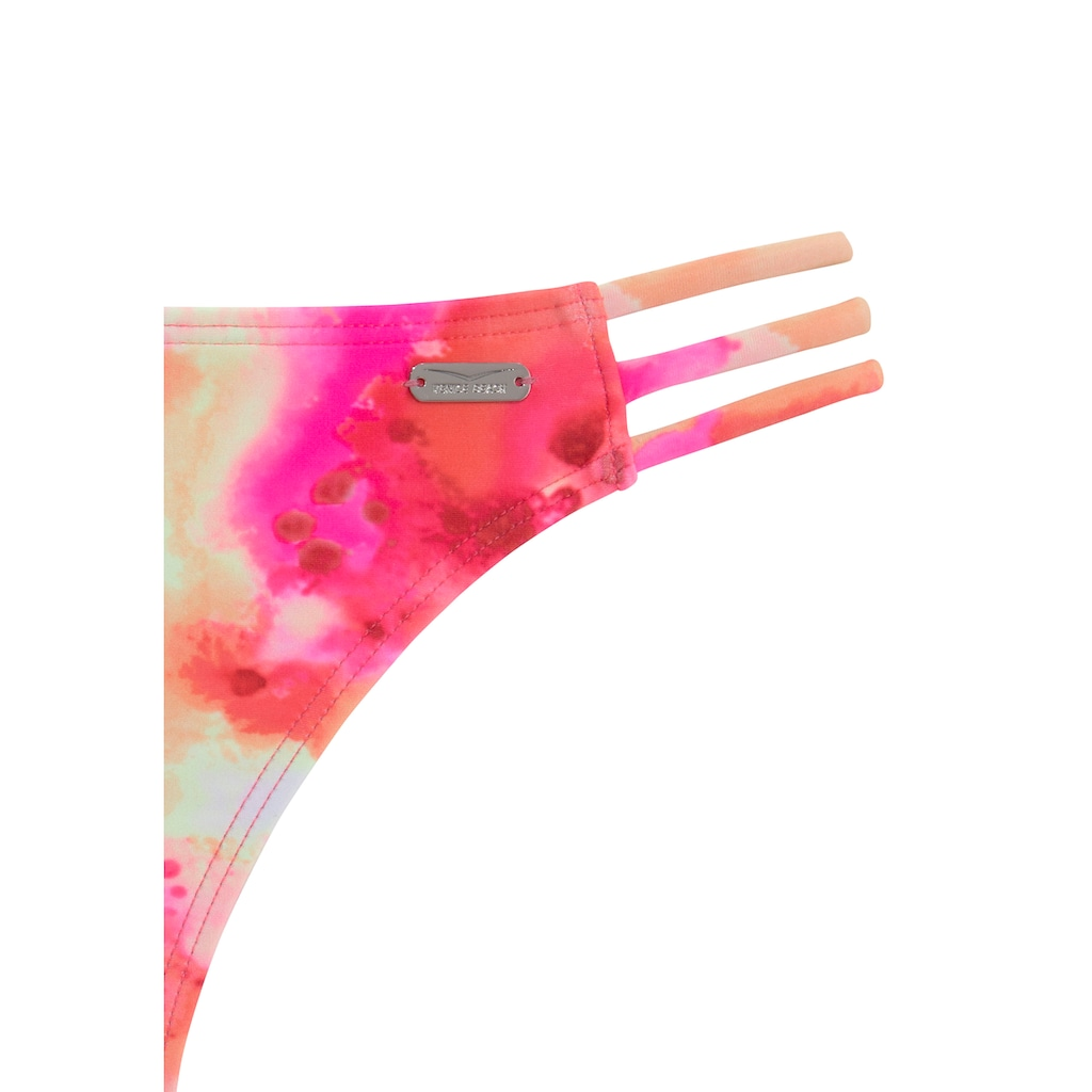 Venice Beach Triangel-Bikini, mit Tie Dye Effekt