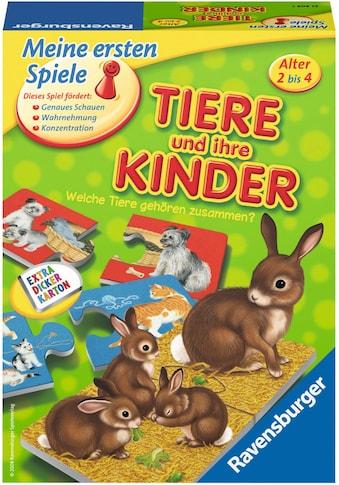 Ravensburger Spiel »Tiere und ihre Kinder«, Made in Europe, FSC® - schützt Wald - weltweit kaufen