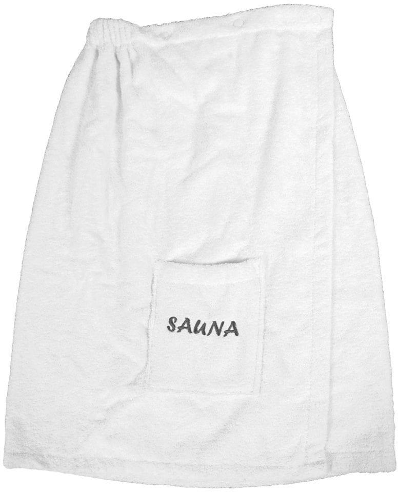 Sarong, Dyckhoff, »Opal«, mit Sauna-Schriftzug | Bad > Sauna & Zubehör > Sauna-Textilien | Weiß | Baumwolle | DYCKHOFF