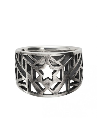 CAÏ Ring »925/ -  Sterling Silber oxidiert Stern Europa« kaufen