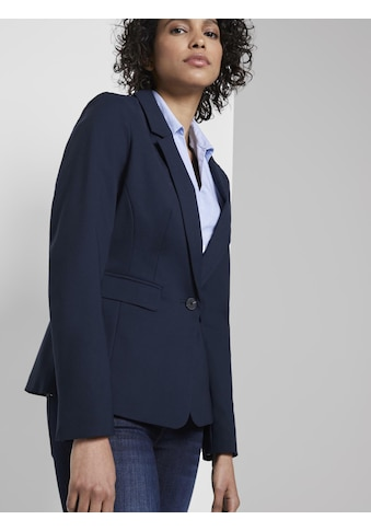 TOM TAILOR mine to five Blusenblazer »Signature Blazer mit Bio-Baumwolle« kaufen