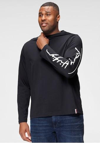 Tommy Hilfiger Big & Tall Langarmshirt »BT - SIGNATURE SLEEVE LS TEE - B« kaufen