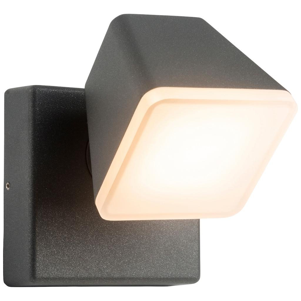 AEG Isacco LED Außenwandleuchte anthrazit
