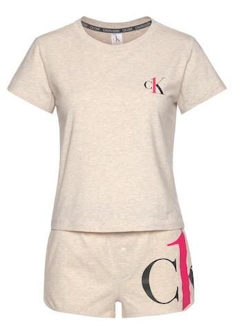 Calvin Klein Shorty, in Melange-Optik kaufen