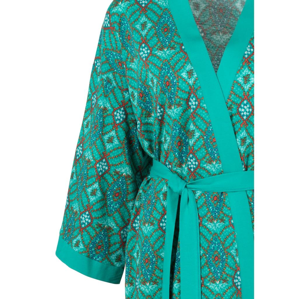 s.Oliver Kimono, mit Ornamentdruck zum Binden