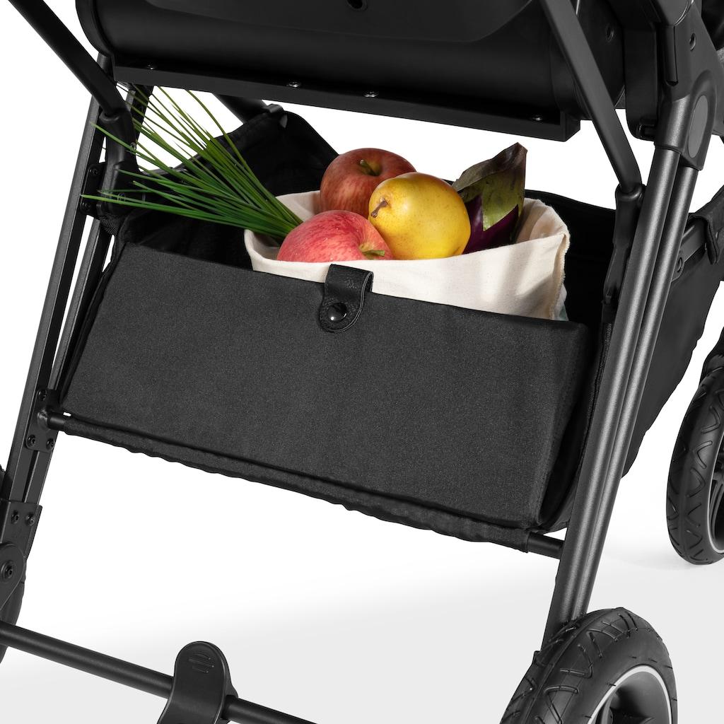 Hauck Kombi-Kinderwagen »Vision X Frame«, 25 kg, Kinderwagengestell mit schwenk- und feststellbaren Vorderrädern; Kinderwagen