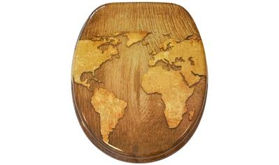 Sanilo WC-Sitz »World Map«, mit Absenkautomatik kaufen