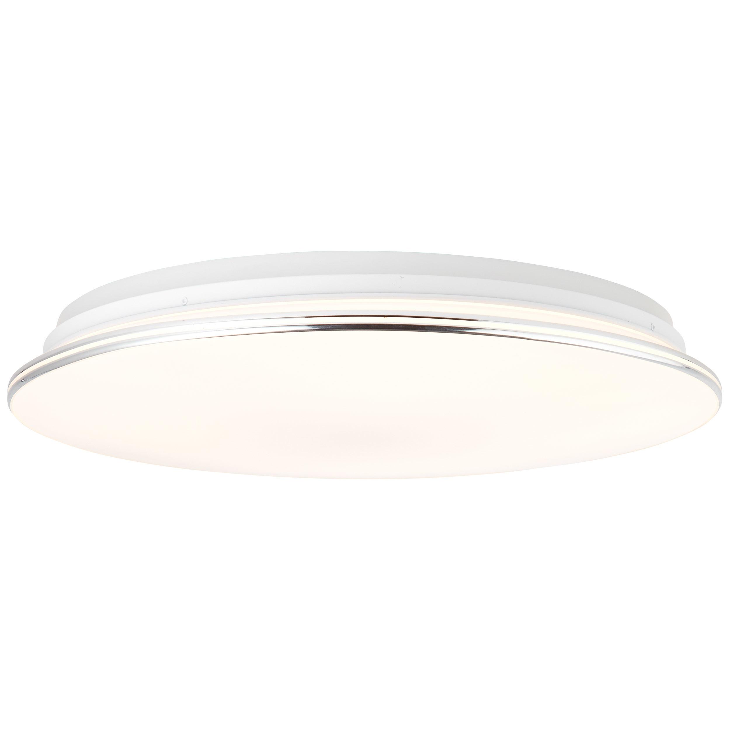 Brilliant Leuchten Edna LED Deckenleuchte 50cm weiß/chrom