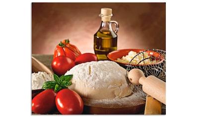 Artland Küchenrückwand »Teig für Pizza« kaufen