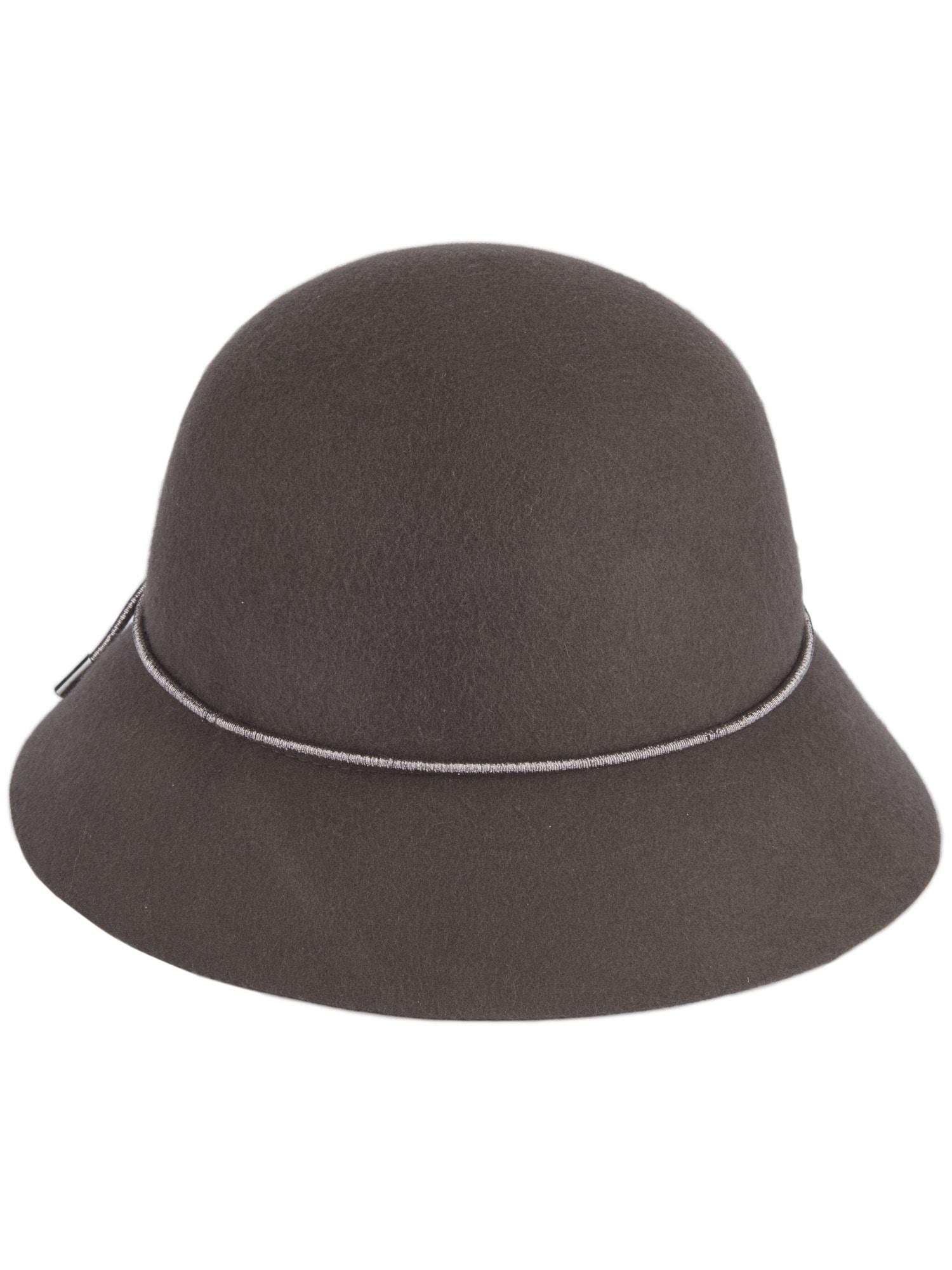 Damen Loevenich Hut mit Hutband Loevenich schwarz