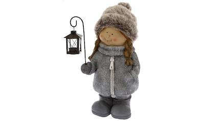 Weihnachtsfigur »Mädchen mit Laterne« kaufen