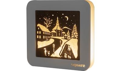 Weigla LED-Bild »Square - Standbild Seiffen«, (1 St.), mit Timer kaufen