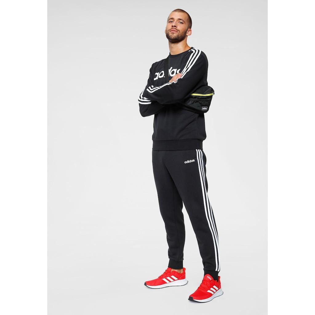 adidas Performance Trainingshose »ESSENTIALS 3-STREIFEN TAPERED CUFFED«