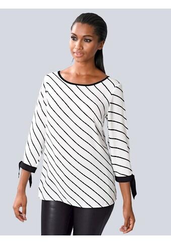 Alba Moda Bluse mit besonders femininen Schleifchen am Ärmel kaufen
