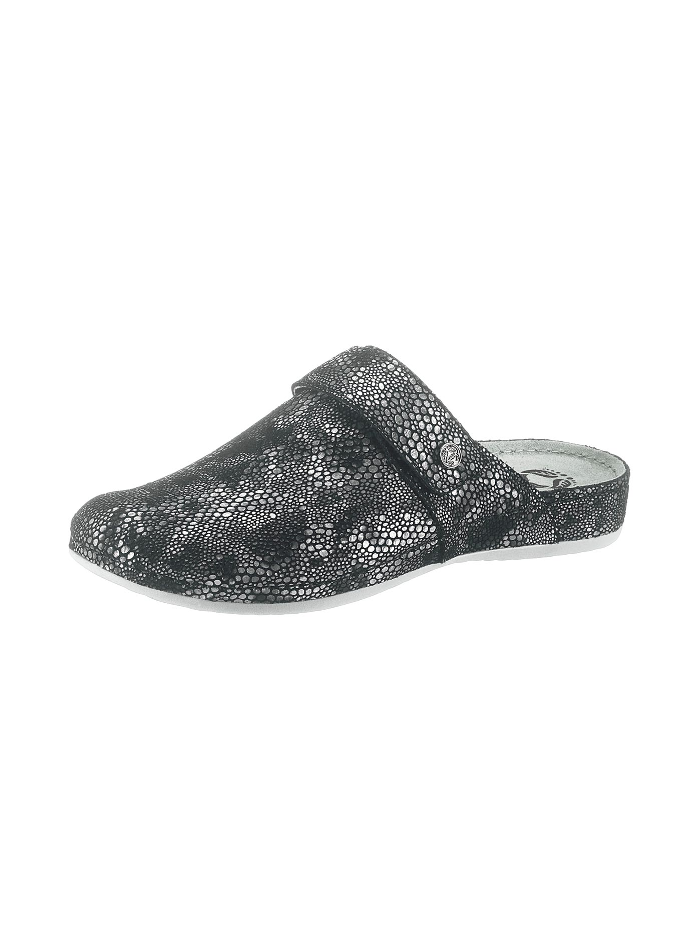 Mubb Clogs in Metallic-Optik | Schuhe > Clogs & Pantoletten > Clogs | Schwarz | Mubb