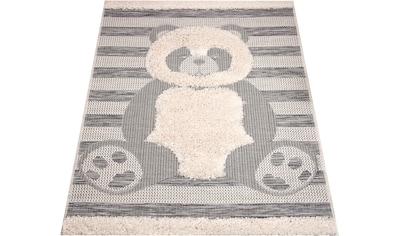 Kinderteppich, »Teddy Bear Charles«, Zala Living, rechteckig, Höhe 35 mm, maschinell gewebt kaufen