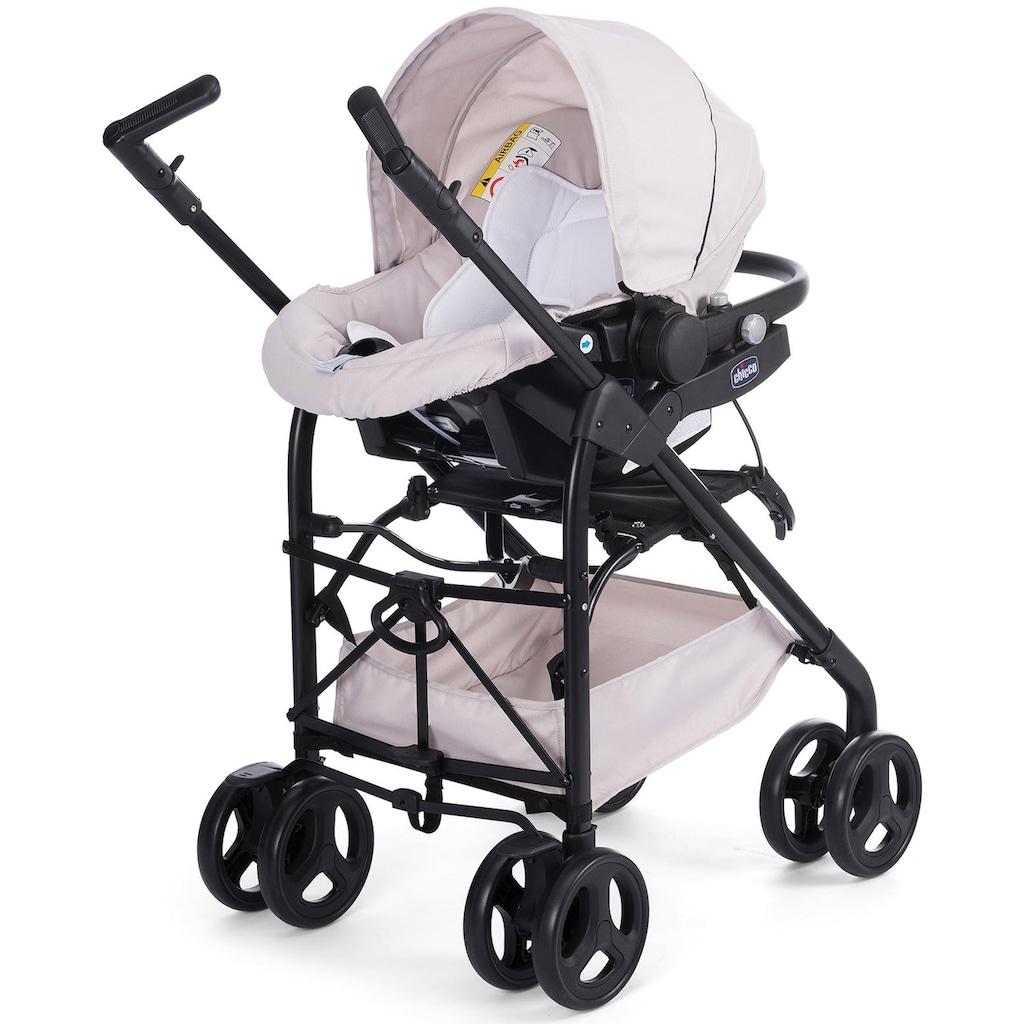 Chicco Kombi-Kinderwagen »Trio Sprint mit Kit Car, Sandshell«, mit Regenschutz; Kinderwagen