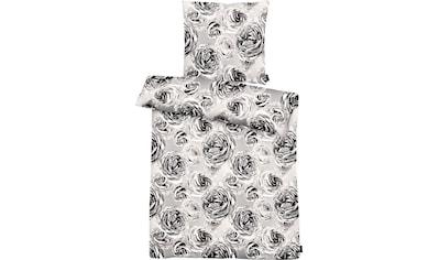 APELT Bettwäsche »Beatrice«, exklusives großformatiges Blumendesign kaufen