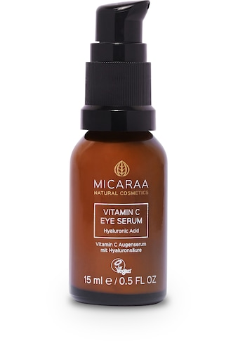 "MICARAA NATURAL COSMETICS Augenserum ""Vitamin C Hyaluron Augencreme"" kaufen"
