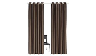 Vorhang, »Satin«, Guido Maria Kretschmer Home&Living, Ösen 2 Stück kaufen