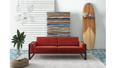 machalke® 3-Sitzer »frame«, mit Kufe in Schwarz kaufen