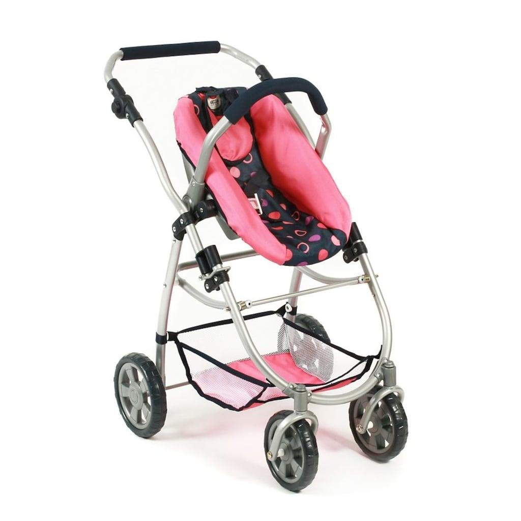 CHIC2000 Kombi-Puppenwagen »Emotion All In 3in1, Corallo«, inkl. Babywanne, Babyschale und Sportwagenaufsatz