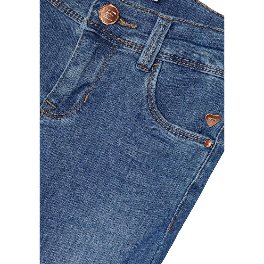 Name It Stretch-Jeans »NKFPOLLY«, Skinnyform in modischer Waschung