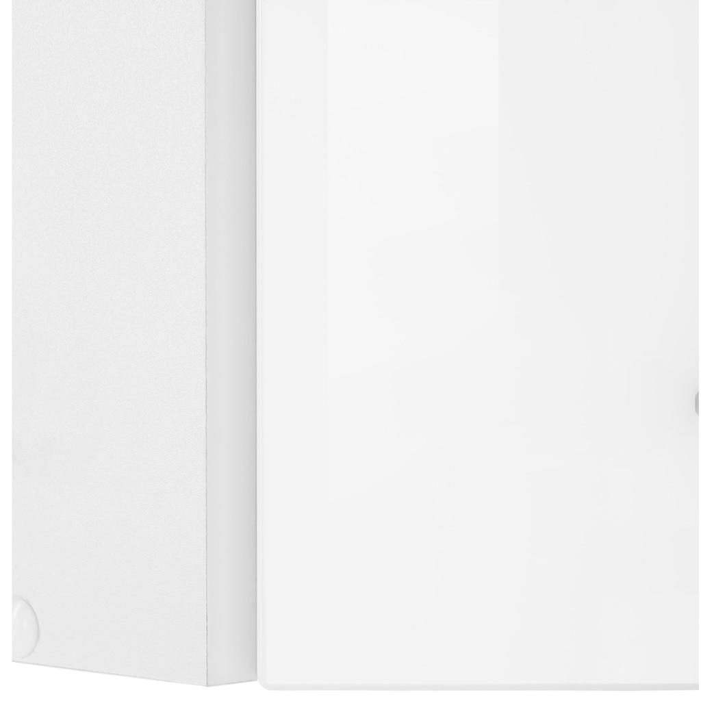 HELD MÖBEL Eckhängeschrank »Tulsa«, 60 cm breit, 1 Tür, schwarzer Metallgriff, hochwertige MDF Front
