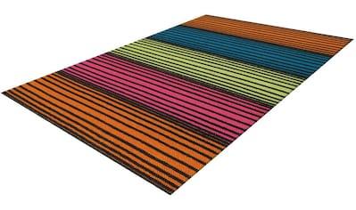 Arte Espina Wollteppich »Craft 8052«, rechteckig, 12 mm Höhe, reine Wolle, Wohnzimmer kaufen