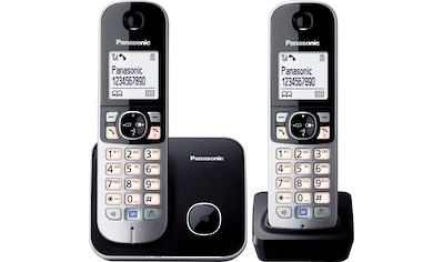 Panasonic »KX - TG6812GB« Schnurloses DECT - Telefon kaufen