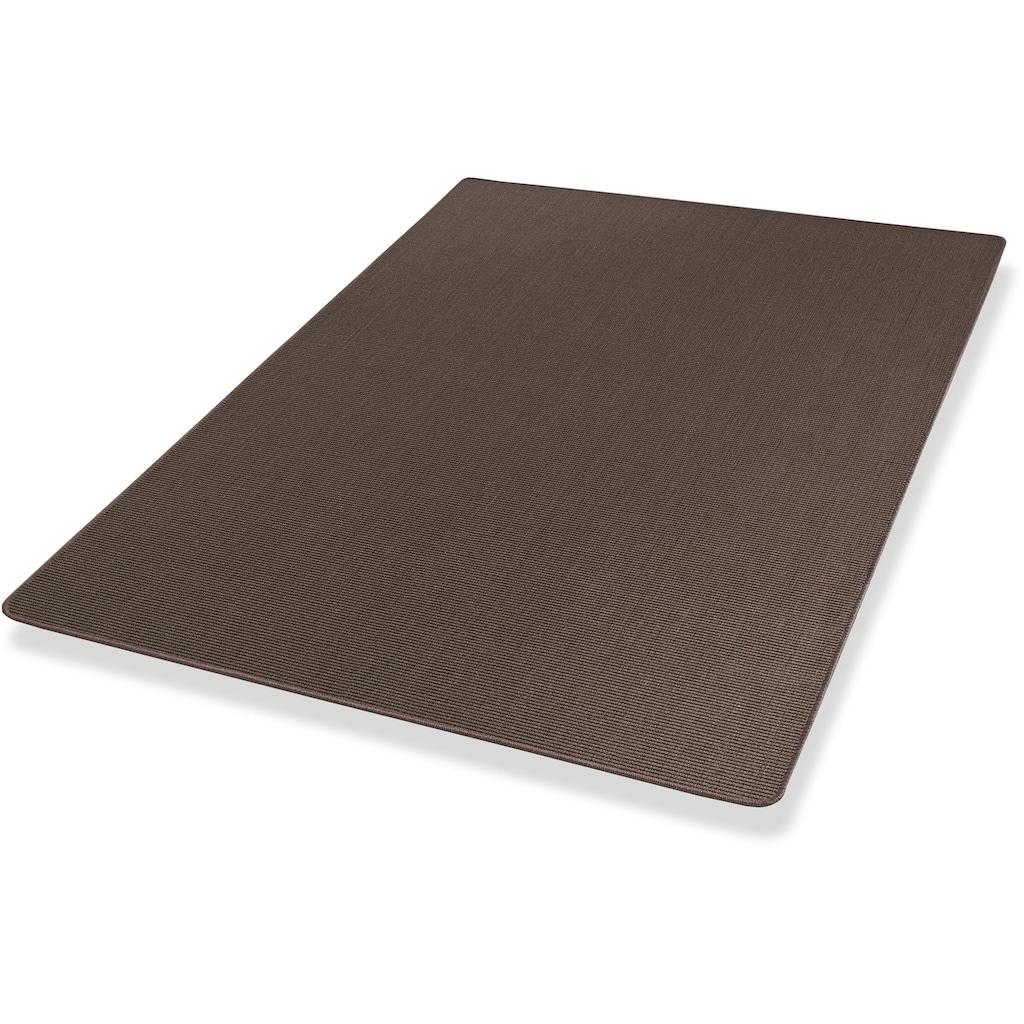 Dekowe Sisalteppich »Mara S2, gekettelt, Wunschmaß,«, rund, 5 mm Höhe, Flachgewebe, Obermaterial: 100% Sisal, Wohnzimmer