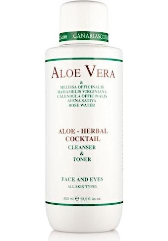 "canarias cosmetics Reinigungslotion ""Aloe  -  Herbal Cocktail"" kaufen"