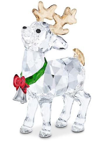Swarovski Dekofigur »Santas Rentier, 5532575«, Swarovski® Kristall mit schwarzem Emaille kaufen