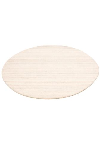 Wollteppich, »Tarik«, COUCH♥, rund, Höhe 18 mm, handgetuftet kaufen