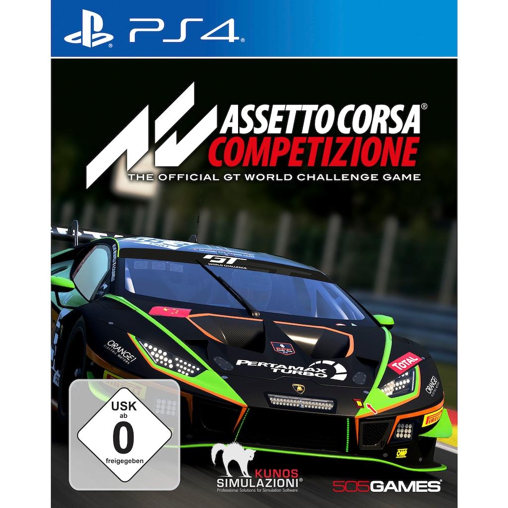 505 GAMES Spiel »Assetto Corsa Competizione«, PlayStation 4