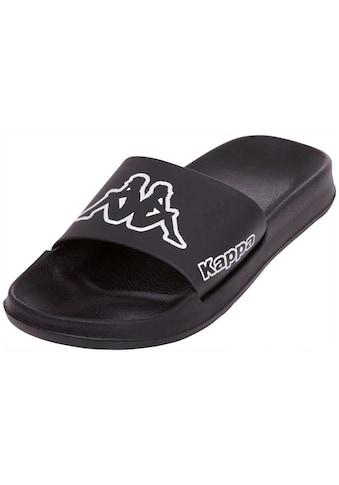 Kappa Badepantolette »KRUS«, mit vorgeformtem Fußbett kaufen