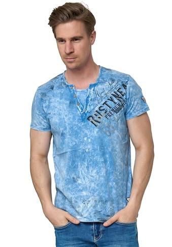Rusty Neal T-Shirt, im coolen Used-Look-Design kaufen