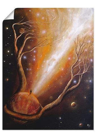 Artland Wandbild »Keiner geht so ganz«, klassische Fantasie, (1 St.), in vielen Größen... kaufen