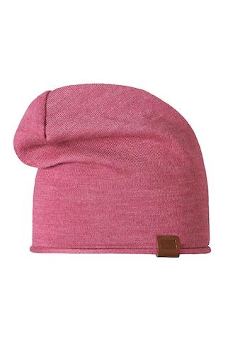 STÖHR RECI  -  längere Mütze aus recyceltem Polyestergarn und Rollrand »RECI« kaufen