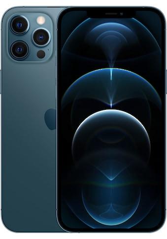 """Apple Smartphone »iPhone 12 Pro Max - 128GB«, (17 cm/6,7 """" 128 GB Speicherplatz, 12 MP Kamera), ohne Strom Adapter und Kopfhörer, kompatibel mit AirPods, AirPods Pro, Earpods Kopfhörer kaufen"""