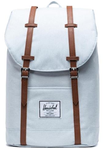 Herschel Laptoprucksack »Retreat  -  Ballad Blue Pastel Crosshatch« kaufen