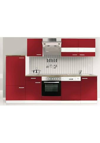 RESPEKTA Küchenzeile »Economy«, mit E-Geräten, Breite 280 cm kaufen